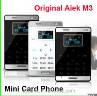 6.5mm Super Thin Pocket Mini Phone Single Sim FM MP3 card phone for student m3