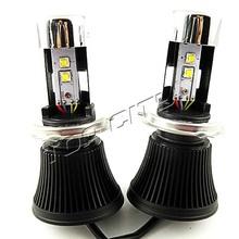 H4 led headlight 4800lm H4-3 HI/LO 40W 4800LM led headlight bulb kits