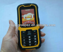 2.2inch rugged feature phone dual sim W26 used mobile phone