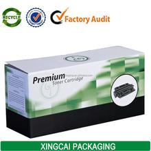 waxed corrugated premium toner cartridge packaging box