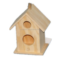 Houses Type And Houses Cage,Carrier & House Type Wooden Bird House, High Quality Unfinished Wooden Cage Carrier House