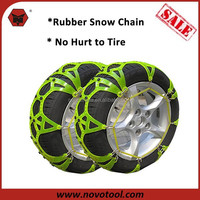 2015 High Quality Quick Mounting Standard Tractor Rubber Snow Chain