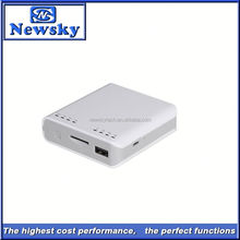 Built-in 5200mah battery with power bank function cheap 3g portable wireless wifi router