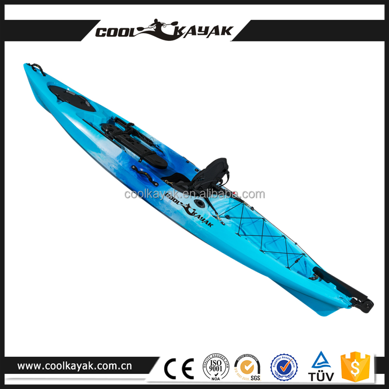 N o infl vel barco 12ft kayak fishing com pedais for 12ft fishing kayak