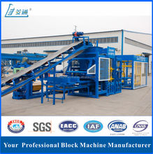 LTQT10-15 automatic hydraulic foam concrete block production line in india