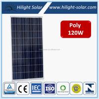 120W Poly PV Solar Panel, Mono PV Solar Module