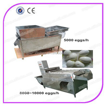5000 eggs/h and 8000 eggs/h hard boiled egg peeling machine automatic egg peeling machine