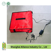 New style heating pizza delivery bag with 12V voltage