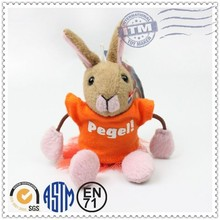 Wholesale handmade custom stuffed animal toy blank key chains key chain manufacturers