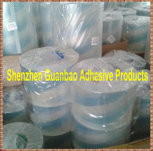 Transparent bopp lamination roll film with strong glue