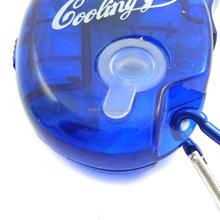 Portable mini handheld water spray fan, Carabiner Keychain handheld water mist spray fan