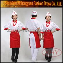 uniformes de chef del restaurante y uniformes