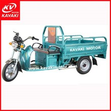 bigger battery 40v/60v 800w/900w/1000w electric driving enclosed large cargo box heavy duty 3 wheel adult motorcycle