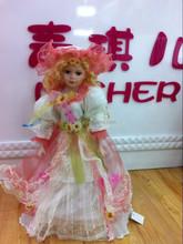 Fasion princesa nobre boneca de cerâmica