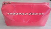 fashion pattern pvc comestic bag red pvc comestic pouch