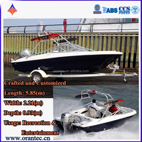 Discount Sport Small High Speed Sport Fishing Boat 0.9m Cheap Prices for Sale
