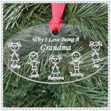 Delicate Funny Oval Pendant Decoration For Family Souvenir