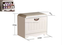 High quality Shoes storage wood stool,stool ottoman,shoes-changing bench