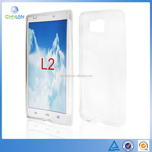 High quality Soft Plain type TPU Silicone Gel Case for ZTE Blade L2 Mobile Phone Cover