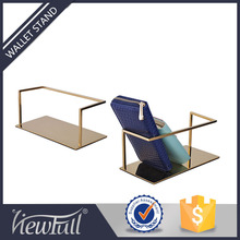 Luxury retail store display stand for wallet store