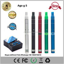 2014 E-cigarette LCD screen products huge vapor high quality ago vaporizer pen with 7 colors