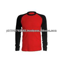 Manches longues T Shirt / Baseball Tee / Baseball Top / Yankee t-shirt