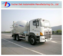 unidad 6x4 5000l marca hino camiones de cemento para la venta