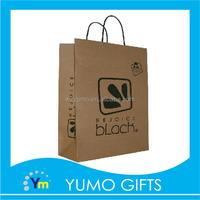 custom brown shopping paper bag manufacturer