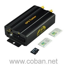 Coban gps103A+ support dual sim card ,lock/unlock the door by sms car gps tracker