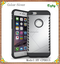 China Factory Wholesales Cheap 2 in 1 Multi-Function Hybrid Combo Aegis Armor Shield Cover Case For iphone 6