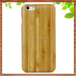 best price blank wood bamboo hard case cover for iphone 6s ,for iphone 6s wood case