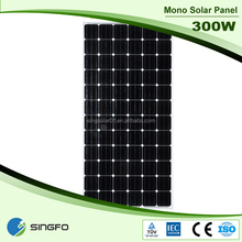 Mono and Poly 300w Solar Panel