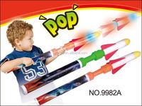 2015 Flashing EVA rocket launcher toys