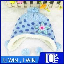 blue fashion boy winter children felt hats