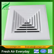 de plástico de aire de techo de ventilación de aire del difusor de aire de tamaño de la parrilla