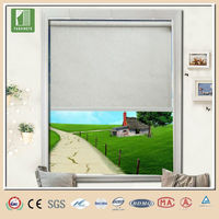 China roller blinds curtain fabric led curtain screen