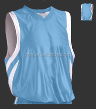 Latest new sublimation basketball jersey style