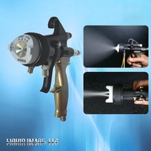 liquid Image double head spray gun for chrome spray