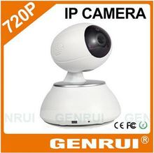 GENRUI 2014 New Design Two-way Audio Talk, Baby Wakes Up Alert, HD 720P Rotatable WiFi Baby Monitor