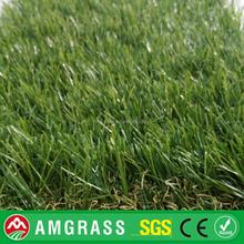 curly & vertical garden carpet plastic decoration PE monofilament artificial grass(AMF411-40D)