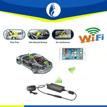 IOS, Android system with WIFI device Car dvr Rearview Reserving Camera