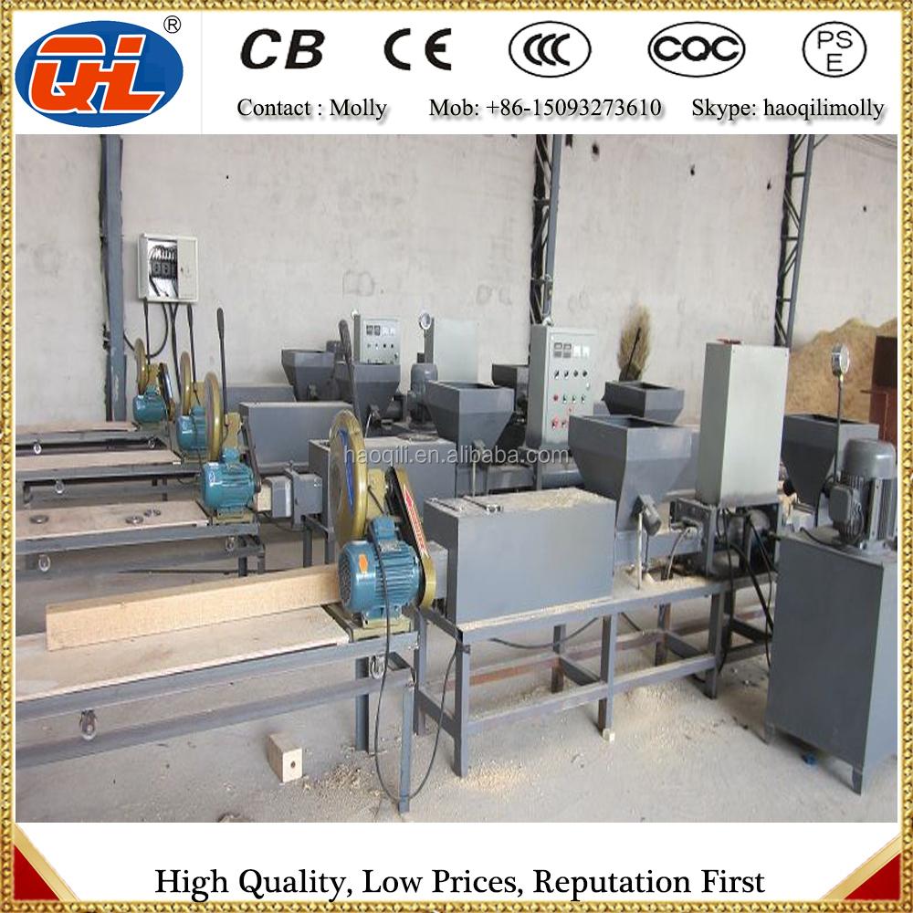 wood press machine