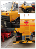 New condition 4*2 fuel tank truck used truck 10000-18000 liters fuel / oil /gasoline/chemical fuel truck sale for Mdiddle East