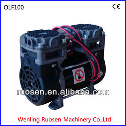 small size silent oil free air compressor/free oill air compressor pump