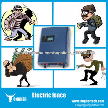Alta seguridad deteccion 14KV pulso ladron cerco electrico para casas(TH-2008HE energizador)
