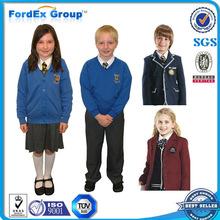 diseño uniforme uniformes escolares los niños al por mayor de la escuela