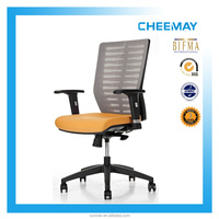 human ergonomic office chair with height adjustable armrests