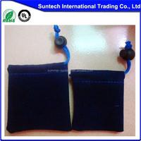 Custom printed velvet drawstring pouch fabric gift bags wholesale jewelry velvet pouch