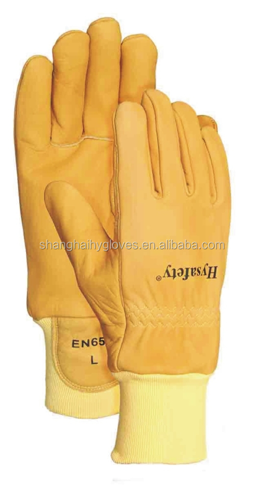 how to clean fire fighters gloves
