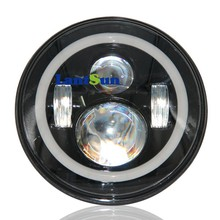 7 inch high illumination best quality wrangler led headlight 40w